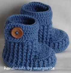 Baby shoes crochet for newborn03 or 36 Mchoose by margarita779, $17.00