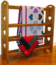 How To Build A Wooden Quilt Rack