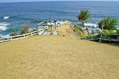 Ragam Wisata dan Kuliner Indonesia: Karang Tawulan Beach Tasikmalaya Golf Courses, Beach, The Beach, Beaches