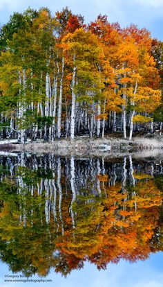 Autumn's Reflections, Colorado | Greg Boratyn on 500px