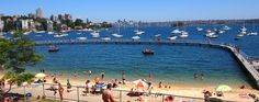Murray Rose Pool (formally known as Redleaf Pool) in Double Bay Sydney