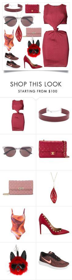 """modalist cashback offer"" by justinallison ❤ liked on Polyvore featuring Balmain, Jennifer Zeuner, Gucci, Chanel, Valentino, Aurélie Bidermann, Lygia & Nanny, STELLA McCARTNEY and NIKE"