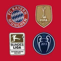 FC Bayern Munchen 2013 famed Treble