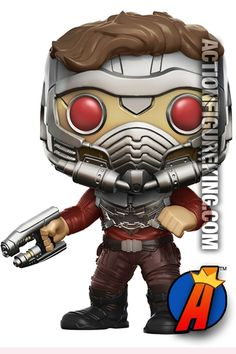 #Marvel #GuardiansOfTheGalaxy #STARLORD #Figure. Quickly and easily search thousands of new and vintage #Collectibles #Toys #ActionFigures and more here… http://actionfigureking.com/list-3/funko-toys-collectibles-and-figures/funko-pop-marvel/funko-pop-marvel-gotg-vol-2-star-lord-toys-r-us-exclusive-figure-209