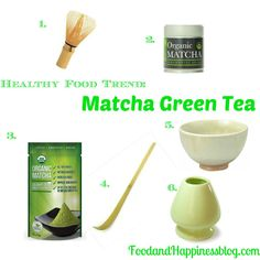 Organic Matcha Green Tea Guide. Items that are perfect for any tea lover! #FoodandHappiness