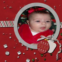 My baby girl her first Christmas