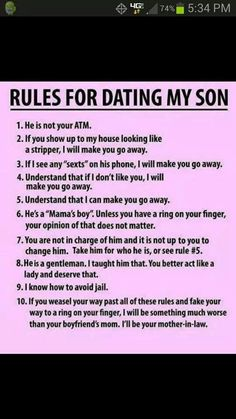 Ha! I have already figured out by how the girls love my boys that I am going to be a feisty momma.