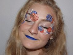 You're Going To Want This Fourth Of July Makeover This Year This Patriotic Makeup Look Will Light Up Your Fourth Of July Makeup Trends, Makeup Tips, Eye Makeup, Makeup Ideas, 4th Of July Outfits, Fourth Of July, 4th Of July Makeup, Festival Makeup, Holiday Makeup