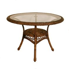 Cane Dining Table | Wicker Imports - Rattan and Outdoor Wicker - Wicker Cushions