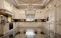Enhance Your Senses With Luxury Home Decor Elegant Kitchens, Luxury Kitchens, Beautiful Kitchens, Custom Kitchens, Luxury Kitchen Design, Dream Home Design, House Design, Luxury Home Decor, Luxury Interior