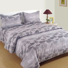 Get and order Stylized Leaf Printed Zinnia Bed in a Bag Set online from WoodenStreet bedding sets, bed sheet sets, bed fitted sheet, bedding sets online, duvet sets, best bedding sets, cotton bedding sets, bedroom bedding sets, luxury bedding sets, summer bedding sets Cotton Bedding Sets, Best Bedding Sets, Bedding Sets Online, Luxury Bedding Sets, Duvet Sets, Bed Sheet Sets, Bed Sheets, Wooden Street, Bed In A Bag