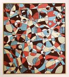 #NateDuval #print $35 #geometric #colorful