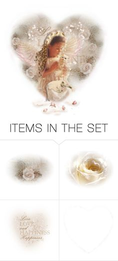 """In the Arms of an Angel🦋"" by ragnh-mjos ❤ liked on Polyvore featuring art"
