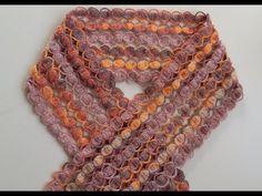 Kolay atkı modeli yapımı / easy weft - YouTube Crochet Scarves, Crochet Shawl, Crochet Patterns, Embroidery, Fashion, Wool Scarf, Brown Vest, Shawl, Crochet Stitches