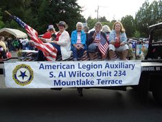 Annually, American Legion Post 234 participates in the Mountlake Terrace Tour de Terrace parade. Our honor guard leads the parade along the parade route to the Evergreen Playfield where the weekend. American Legion Auxiliary, American Legion Post, Mountlake Terrace, Parade Route, Honor Guard, Monster Trucks, Tours, The Unit
