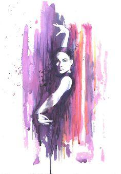 Portrait of a dancer of flamenco Spanish par PetitAtelierC100D17