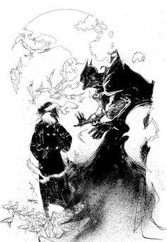 Detective Comics #775 by Bill Sienkiewicz