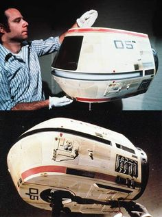 The travel pod for Star Trek: The Motion Picture, Wrath of Khan, and The Voyage Home.  #startrek  #behindthescenes