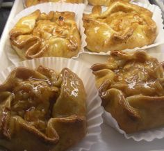 Rustic Apple Tarts - Nice and Refreshing on a warm summer day! juergensbakery.com #apple #pastry #germanvillage #oktoberfest #columbus