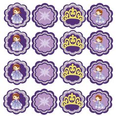 Sofia The First Birthday water bottle Wrappers by DecorAtYourDoor Birthday Blast, Sofia The First Birthday Party, Bear Birthday, First Birthday Parties, First Birthdays, Purple Princess Party, Princess Sofia Party, Purple Party, Cupcake Party