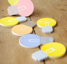 Eureka! Post It Notes. Love these!