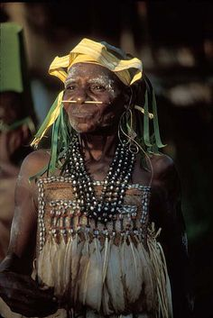 woman photographed in Irian Jaya, West Papua New Guinea by Flickr user deepchi1