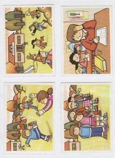 SECUENCIAS TEMPORALES - monicana - Álbumes web de Picasa Sequencing Pictures, Sequencing Cards, Story Sequencing, Speech Language Therapy, Speech And Language, Speech Therapy, Teachers Aide, Learning Support, School Clipart