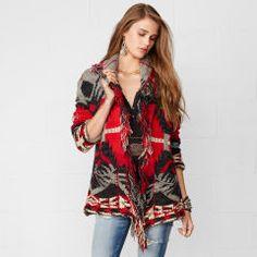 Fringed Shawl-Collar Cardigan - Denim & Supply  Cardigans & Sweater Coats - RalphLauren.com