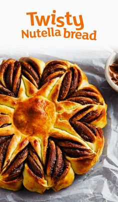 Yes, chocolate Nutella bread is really a thing. Why not try baking some this Easter?