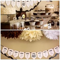 MOUSTACHE THEMED PARTY