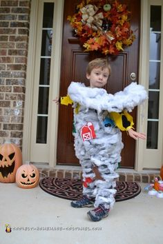 Toddler Tornado Costume  sc 1 st  Pinterest : childrens halloween costumes homemade  - Germanpascual.Com