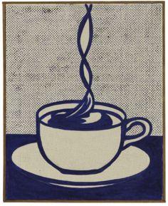 Roy Lichtenstein. Cup of Coffee 1961