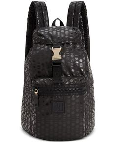 Tommy Hilfiger womens Training Plus Solid Nylon Small Backpack