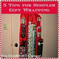 5 Tips for Simple Gift Wrapping!