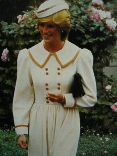Diana in Canterbury, Kent, England, May 20, 1983. She visited Cranmer House, a care home for the elderly