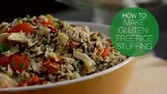 GF rice stuffing