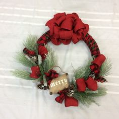 Wreath for Christmas, Front Door Wreath for Christmas, Holiday Wreath, Winter Wall Decor, Christmas Wreath with Pine by TheBayWindowFlorist on Etsy Christmas Front Doors, Wreaths For Front Door, Door Wreaths, Holiday Wreaths, Christmas Holiday, Holiday Decor, Etsy Wreaths, Pine, Merry