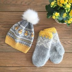 Knitting Projects, Knitting Patterns, Job Chart, Handicraft, Knitted Hats, Diy And Crafts, Winter Hats, Easter, Colours