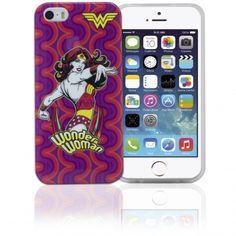 "COVER ""DC Comics"" ORIGINALE PER APPLE IPHONE 5/5S – WONDER WOMAN Codice : IP5WB3 Info a : info-tecniche@phonix.it"