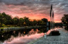 Sun Rising on the Erie Canal 2