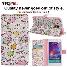 Galaxy Note 4 Case, TabPow [Wallet Case] Love Symbols PU Leather Flip Case [Card Slot Case][Magnetic Closure] For Samsung Galaxy Note 4 TabPow http://www.amazon.com/dp/B017NQETLE/ref=cm_sw_r_pi_dp_N95Cwb001YEF4