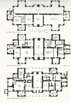 Georgian Mansion Floor Plan Awesome Castle Floor Plan New English Manor House Plans Of Georgian Mansion Floor Plan House Plans Uk, Castle House Plans, Country House Plans, Country Houses, English Country Manor, English Manor Houses, English House, Low Country, French Country