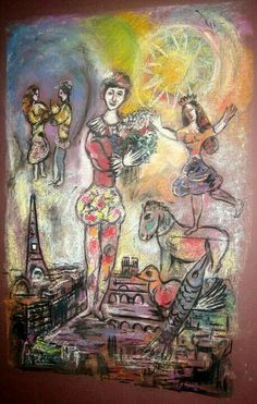 Marc Chagall - Le Cirque, Paris 1967