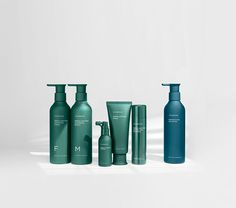 Ayunche Brand Refreshment / Amos Professional, 2021 / Deigned by Jiyoun Kim Studio™ - Jiyoun Kim, Hannah Lee, Dokyoung Lee / www.jiyounkim.com Type Setting, Saturated Color, Branding Design, Water Bottle, Cosmetics, Graphic Design, Projects, Behance, Hannah Lee