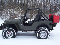 1951 Willys CJ-3A - Photo submitted by Rob Alkyer.