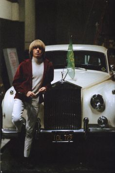 Brian Jones in Los Angeles, 1965.