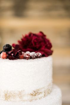 Sugar-dusted cake, Waiting on Martha