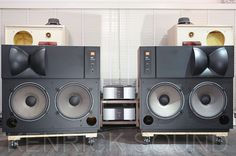 JBL 4435 studio monitors