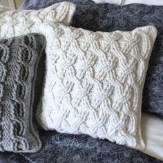 Maker Monday: rubywebbs A Contemporary Crochet Pattern Etsy Shop - YarnHookNeedles Crochet Pillow Pattern, Crochet Cushions, Knit Pillow, Crochet Stitches, Crochet Patterns, Crochet Home, Knit Crochet, Cable Knit Throw, Manta Crochet