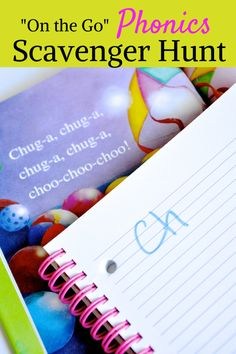 Phonics Scavenger Hunt - great for new readers!